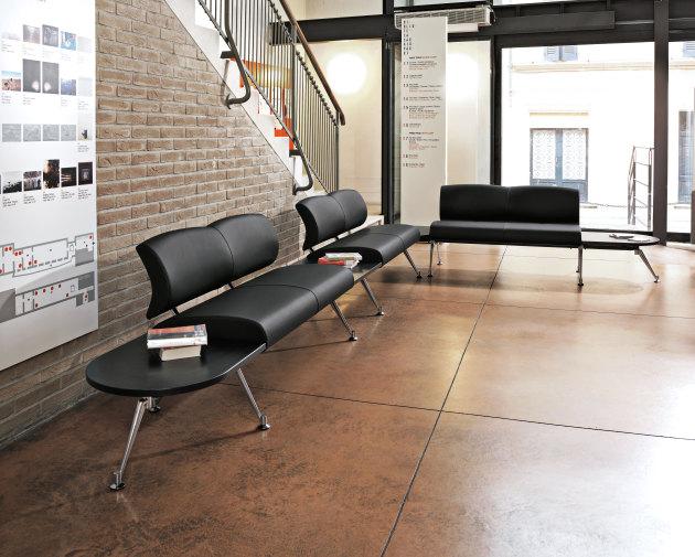 Wartezone Möbel, Exclusive Loungemöbel, Designloungemöbel, Warte Sitzbank, Design Sitzelemente