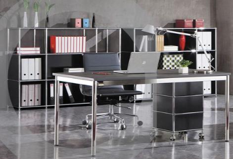 Büromöbel weiß chrom  Designbüromöbel und Designstühle - Büromöbel