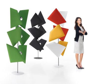 Akustiksäule, Design Akustik, Schalldämmung Büro, Akustik Büro, Lärmverbesserung Büro, Akustiklösung Büro
