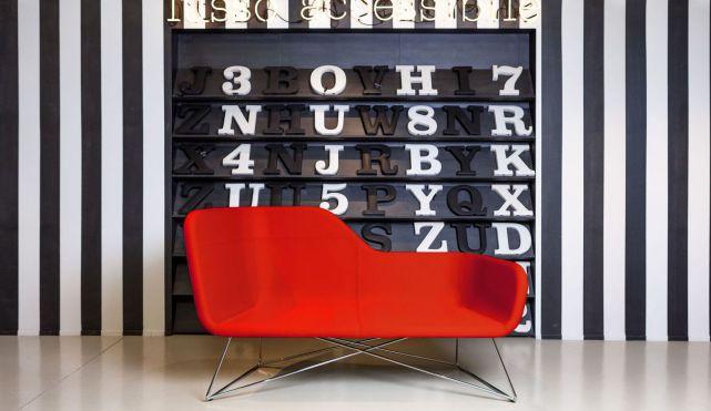 Büro Schaukelsessel, Besucherstuhl farbig, Schaukelstuhl Büro, bequeme Besuchersessel, Komfort Besucherstuhl