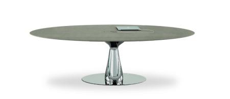 Konferenztisch, Design Besprechungstisch, Ovaler Tisch, Designkonferenztisch, schöner Besprechungstisch, eleganter Konferenztisch, Besprechungstisch München, Bralco Metar Konferenztisch, Design Besuchertisch
