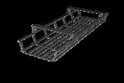 GKA Gitterkabelkanal, Gitterkorb abklappbar, Gitterkabelwanne chromfarben